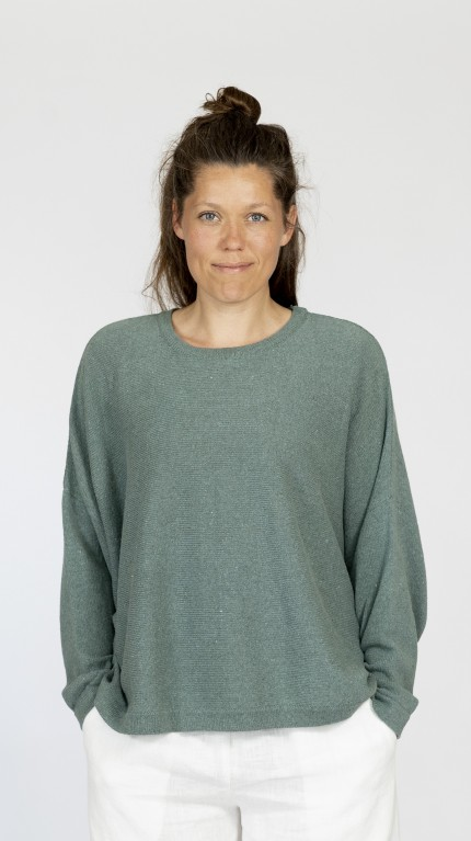 ALBERTE BLOUSE IN RECYCLED COTTON